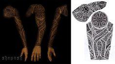 full sleeve tribal design by shepush