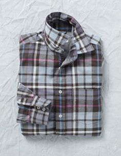 Double Faced Check Shirt  $84.00