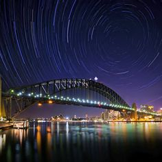 Midnight Stars | Opera House And Harbour Bridge | Sydney | Australia | Photo By OaKy Isra