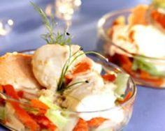 Cassolette de poissons et St jacques - Une recette CuisineAZ