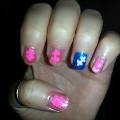 Autism nails