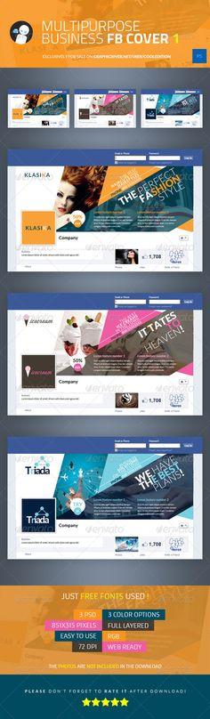 Multipurpose Business Facebook Cover 1 - Facebook Timeline Covers Social Media