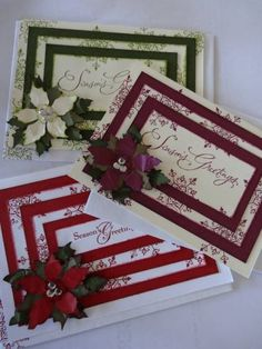 christmas selection ...layered by Brenda Brown - Cards and Paper Crafts at Splitcoaststampers