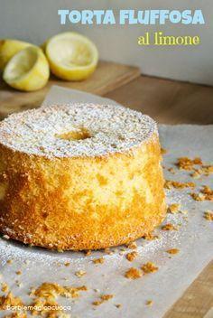 Torta fluffosa al limone | Barbie magica cuoca - blog di cucina