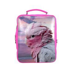 Galah Cockatoo Square Backpack. FREE Shipping. FREE Returns. #lbackpacks #parrots