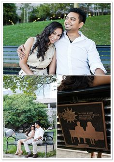 {REAL COUPLE} ANEEKA + DAVE'S (500) DAYS OF SUMMER ENGAGEMENT