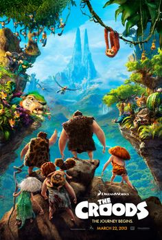 The Croods (2013) - IMDb. This was a sweet and funny animated film. The story was intriguing...a family terrified of changing in a constantly changing landscape. I recommend it.