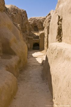 The ruins of the Parthian fortress, Nissa,  Turkmenistan, Central Asia.