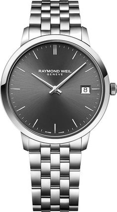 Raymond Weil Watch Toccata Mens Watch available to buy online from with free UK delivery. Simple Watches, Modern Watches, Casual Watches, Cool Watches, Relic Watches, Fossil Watches, Diesel Watches For Men, Mens Digital Watches, Raymond Weil