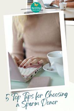 Visit Fertility Help Hub, for top recommendations when choosing a sperm donor. Click to read. #fertility #infertility #conception #tips #sperm #donor #donation #ttc #parenthood #motherhood Conception Tips, Fertility Help, Surrogacy, Top, Crop Shirt, Shirts