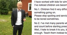 Teacher is fed up with kids' attitude, begs parents to teach their kids these 3 things