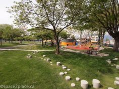 Play area at Oppenheimer park | Vancouver BC