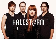 Halestorm fucking awesome band!!