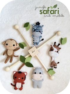 Hey, I found this really awesome Etsy listing at https://www.etsy.com/listing/220264419/jungle-safari-baby-mobile-nursery-decor