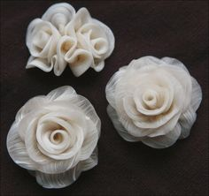 """Sublime, delicate, beautiful.  by """"Julliyaa"""", translucent polymer clay"""