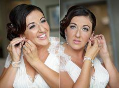 Beautiful bride Daniella Cuiffa in Elsa Corsi Jewellery - Italian Cultural Centre Wedding 12