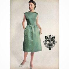 "Maddy Gilly (@gillymaddy) on Instagram: ""#vogue #october #1960 #1960s #1960sfashion #1960sstyle #vogue #voguemagazine #fashion…"""
