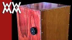How to make a cajon drum with an adjustable snare.