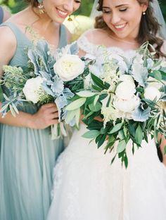 Hip Green California Wedding - MODwedding