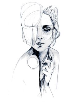 Sketch V // PENCIL DRAWING / A2 Giclée print from by hollysharpe, £45.00