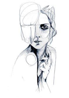 Sketch V | Holly Sharpe #illustration