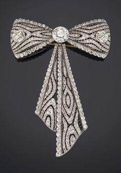 Broche Antik-look nuevo arte perla pedrería ramo pin ele Design oros