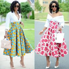 Skirts: Bliss Collection by Karen All African Inspired Fashion, African Print Fashion, Africa Fashion, African Print Dresses, African Fashion Dresses, African Dress, Ankara Fashion, African Prints, African Print Skirt