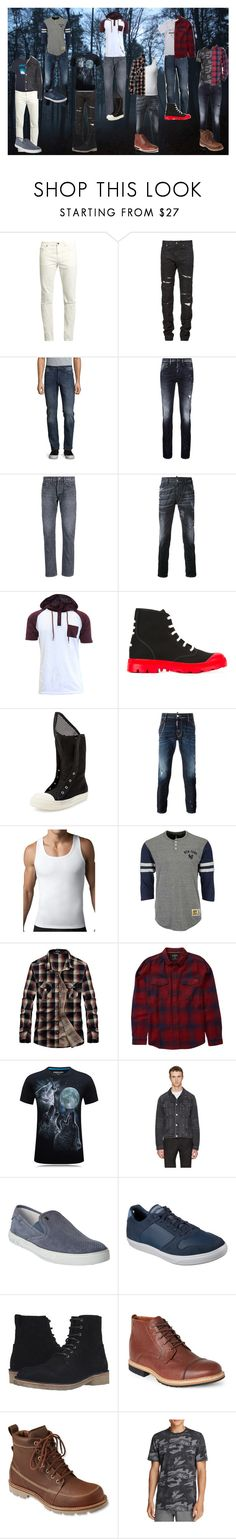 """""""David Kay - Other Outfits (#8)"""" by sonictf ❤ liked on Polyvore featuring Yves Saint Laurent, DL1961 Premium Denim, Denham, Simon Miller, Dsquared2, Givenchy, DRKSHDW, SPANX, Mitchell & Ness and Billabong"""