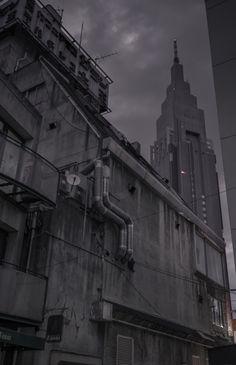 The Collektor | atlantidex:     Back alley in Yoyogi, Tokyo | Jan...