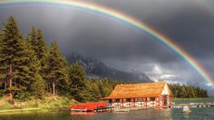 Rainbow over the Moutains