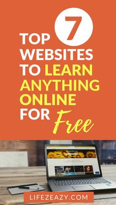 If you want to learn anything whether it is an online course, coding, dancing, painting etc, you can check out these 7 educational websites to learn anything online for free learnanything freecourses onlineschools education 365284219778478687 Sites Online, Online Programs, Online Courses, Free Online Coding Courses, Online Learning Sites, Learning Websites, Best Educational Websites, Cool Websites, Amazing Websites