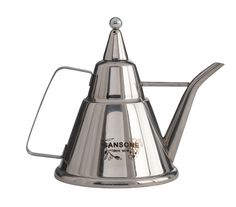 Stainless Steel Oil Cruet, perfect for the dinner table when having guests over!  SA0040-1+Italian+Sansone+Stainless+Steel+Oil+Cruet.png 640×564 pixels