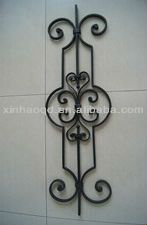 Best Adjustable Wrought Iron Balusters Wrought Iron Stairs 640 x 480