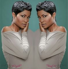 Pixie cut Hair by Keitra H.