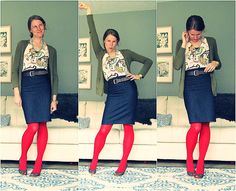 I need to get me some bright tights to jazz up my outfits :)
