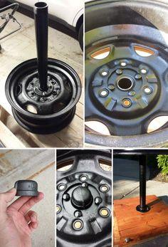 DIY Tire Rim Grill (No Welding)