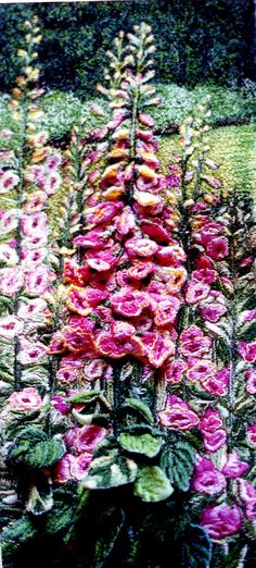Mitra McQuilton (Asgharzadeh) Thread Painting Artist