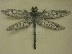 ... on Pinterest | Dragonfly Tattoo, Pentacle and Dragonfly Tattoo Design