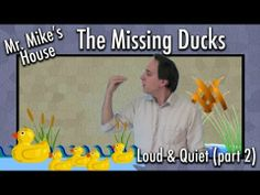 Preschool Learning: The Missing Ducks (Loud & Quiet series, part Make Way For Ducklings, Video Websites, Spring Animals, Pond Life, Preschool Learning, Teaching Tools, Ducks, Classroom Ideas, Ps