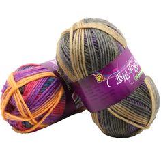 dcc6fc86a425 3.7  1 pc 100g Tricot À La Main Populaire Laine Chaud Doux Teint pour le  tricotage Beau Chapeau Écharpe dans Fil de Maison   Jardin sur  AliExpress.com ...