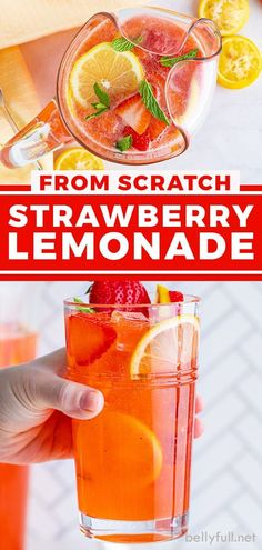 Homemade Strawberry Lemonade, Pineapple Lemonade, Strawberry Juice, Blueberry Lemonade, Frozen Lemonade, Smoothie Drinks, Smoothies, Smoothie Recipes, Refreshing Summer Drinks