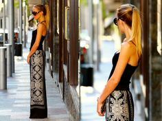Classy black & white (by Victoria Kemerer) http://lookbook.nu/look/3916218-Classy-black-white