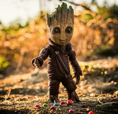 baby Groot... Flora Colossus, Groot Avengers, Ganesh Images, I Am Groot, Rocket Raccoon, Wallpaper Space, Healing Herbs, Guardians Of The Galaxy, Selena Gomez
