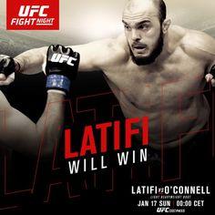 Ilir Latifi vinner på knockout etter 30 sekunder i Boston.