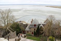 Bretagne: View from Mont Saint Michel