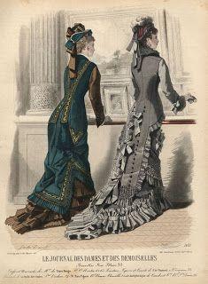 .História da Moda.: Século XIX - Parte 2: A Moda na Era Vitoriana
