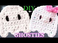 Crochet Ghost Applique Pattern - YouTube