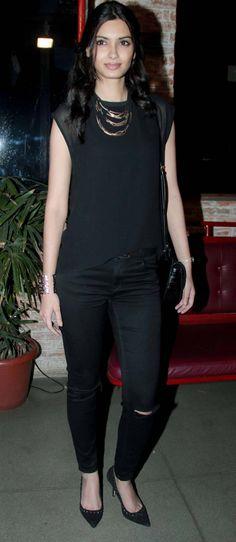 Diana Penty at the #HappyBhaagJayegi wrap-up bash. #Bollywood #Fashion #Style #Beauty #Hot #Cute