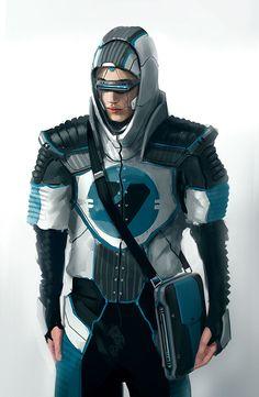 Cyberpunk Character Designs From Node