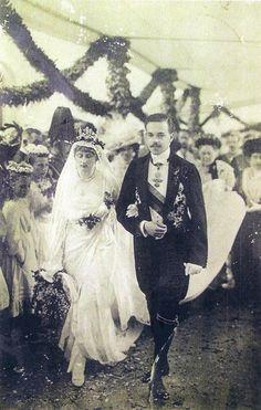 Casamento do Rei D.Manuel II com a princesa D. Augusta Vitória, princesa de Hohenzollern-Sigmaringen
